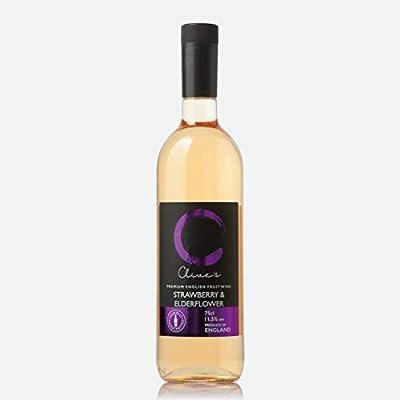 Clive's Premium English Fruit Wine Strawberry & Elderflower - 75cl
