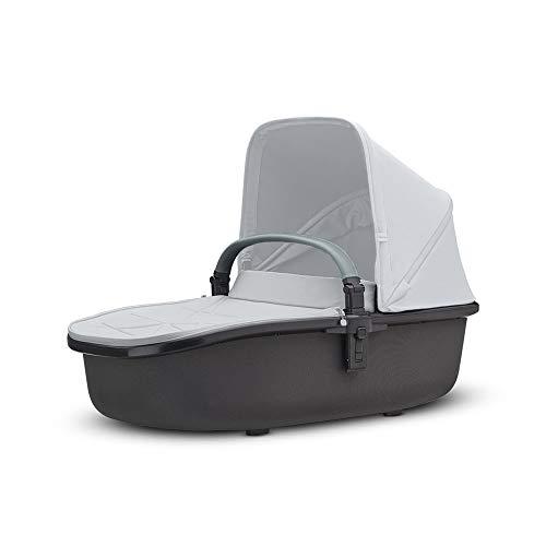 Quinny Hux Kinderwagenaufsatz für den Quinny Hubb Mono, Quinny Hubb Duo oder Quinny VNC, Graphite on Grey (grau)