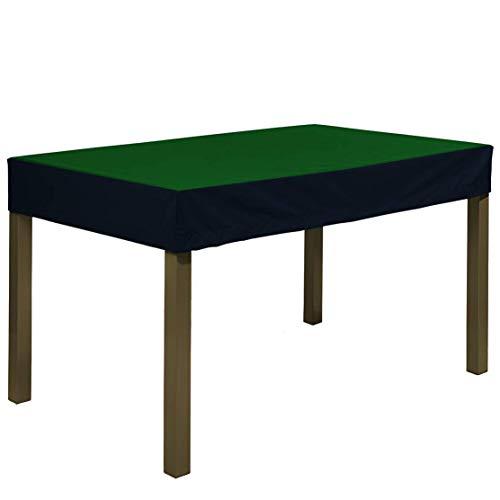 Planesium Premium - Funda protectora para mesa de jardín (300 x 220 x 15 cm), color verde