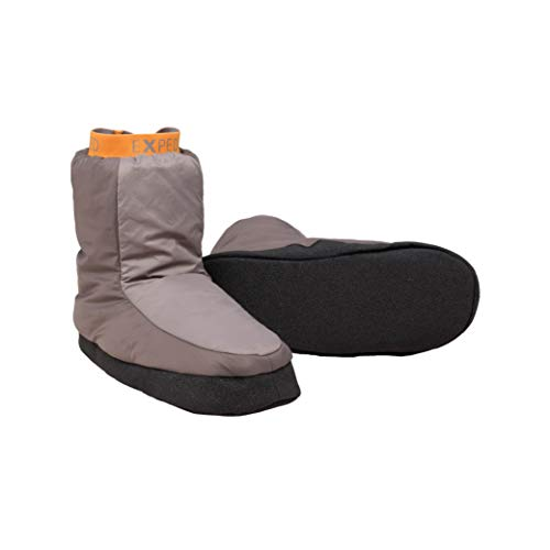 Exped Camp Booty Camping Slippers, Small, Charcoal