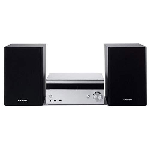 Grundig M3000BT - Sistema de Audio para el hogar, microcadena (6 Ohm, 100 W) Color Negro