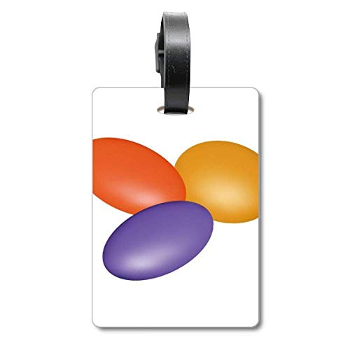 Pill Illustration Gesundheitsprodukte Muster Kreuzfahrt Koffer Tasche Tag Tourister Identifikationsetikett