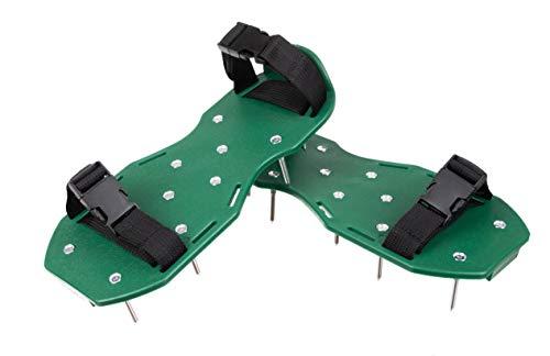 ISO TRADE Rasenbelüfterschuhe Rasenbelüfter Sandalen Vertikutierer Nagel-Schuhe 12180