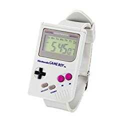 Nintendo GameBoy™ Digital Watch - Official Super Mario Land™ Alarm Sound & Built-in LED. Iconic Design, Great Retro Gaming Gift.
