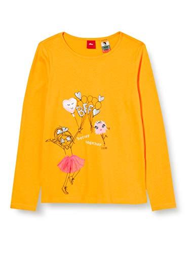 s.Oliver 403.10.008.12.130.2041125 T-Shirt, 1415, 128/134 cm(Regolare) Bambina