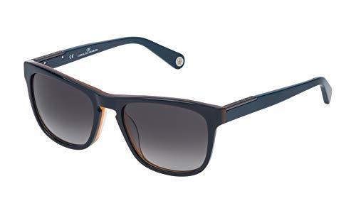 Carolina Herrera SHE686540D25 Gafas de Sol, Azul, 54 para Hombre