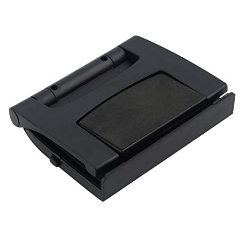 OocciShopp Soporte de Clip de TV para Kinect, Soporte de Soporte Compacto de Soporte de TV Duradero para Microsoft para Xbox One para Soporte de televisión Ajustable con Sensor Kinect (Negro)