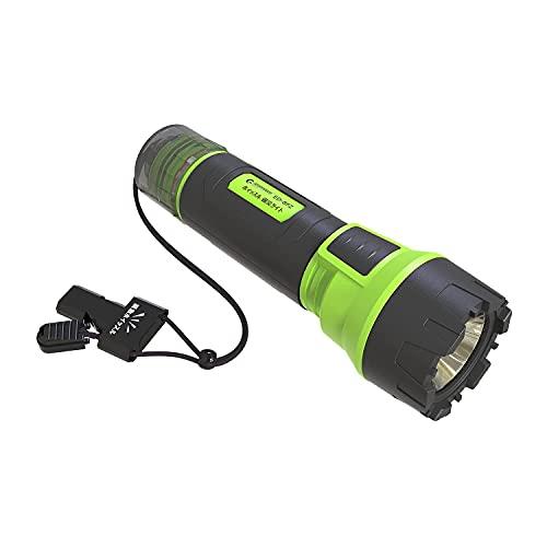 GOODGOODS Lights LED ライト 照明 flashlight 2000LM 充電式 ホイッスル付き 懐中電灯 ハンディライト サイクルライト 強力 軍用 防水 ED-8FZ