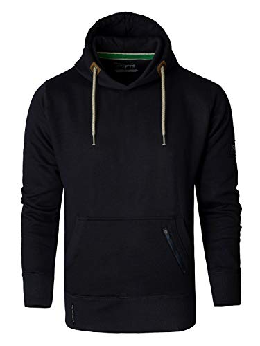 FULL TIME SPORTS Plain Hoodie - XX Large, Navy