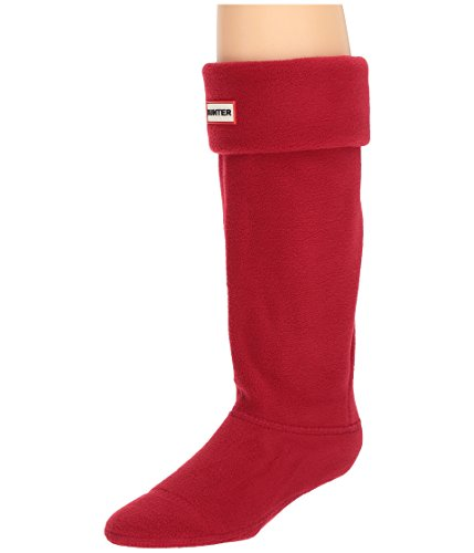 Hunter Boot Socks Military Red MD (Women's Shoe 5-7)