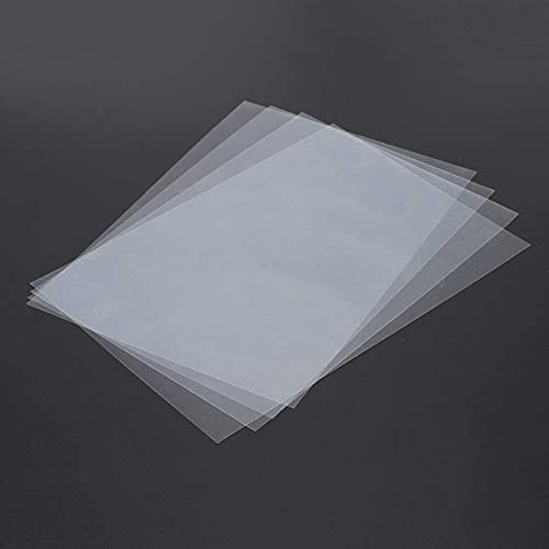 Accessori per parti della stampante 3D, 4 fogli di pellicola FEP 120 mm x 180 mm x 0,1 mm DLP LCD SLA stampante 3D in resina per Wanhao Duplicator D7, Proniks KLD-LCD1260, YHD-101, (Colore: predefinit