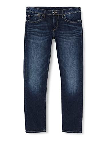Pepe Jeans Herren Jeans Pepe Jeans, Blau Foncé Denim Z45, 34W / 34L