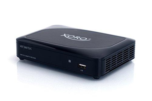 Xoro HST 260 T2/C Hybrid SmartTV IP-Box schwarz