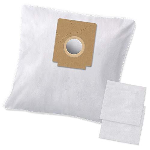 10 Hochwertige Staubsaugerbeutel + 2 Filter - Passend zu Swirl Y104 Filtertüten - Bestleistung beim Saugen