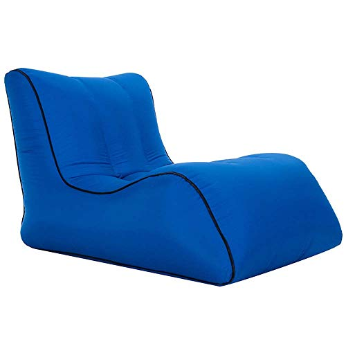 Air Chair, Aufblasbarer Air Lounger Chair Lazy Sofa, Selbstaufblasende Wasserdichte Blow-up-Couch Im Innen- Und Außenbereich Mit Flaschenhalter Für Camping, Strand, Park, Pool, Picknicks