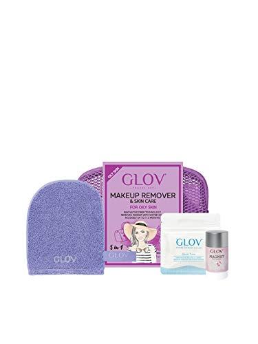 Glov - glov travel set makeup remover & skin care oily skin - btsw-167396