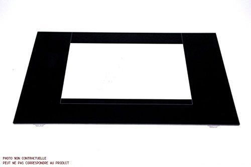 Indesit–Cristal para Puerta de horno blanca 413x 493m cocina Indesit