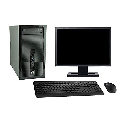 HP ProDesk 400 G1 - Ordenador de sobremesa (19 pulgadas, 6 pulgadas, 8 GB SSD 480 GB, Windows 10, Wi-Fi)