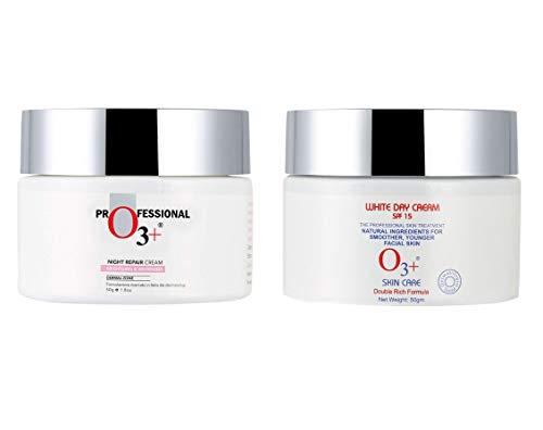O3+ Whitening Brightening Day Cream + Night cream Combo. 50g each
