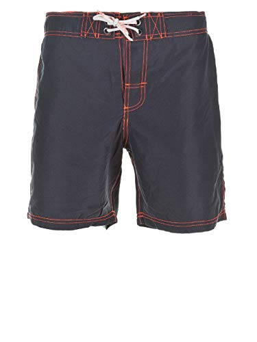 Blend Herren 702604 Badeshorts, Grau (Grey 70151 India Ink), Small (Herstellergröße: S)