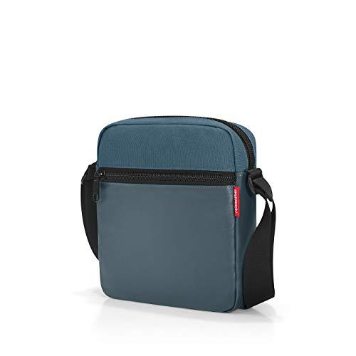reisenthel crossbag Umhängetasche 23 x 26 x 6 cm / 5 l / canvas blue