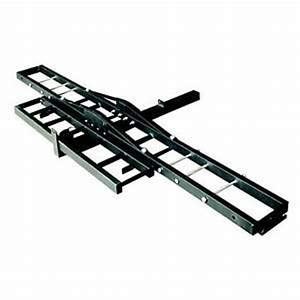 Heize best price 500lb Black Bike Rack Ramp Carrier Hauler Hitch Mount Dirt Bike MX Scooter (U.S. Stock)