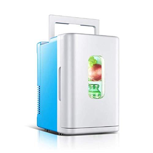 FZYE Mini Nevera silenciosa Mini Nevera Barata para Dormitorio Mini Nevera portátil para Coche al Aire Libre Lindo