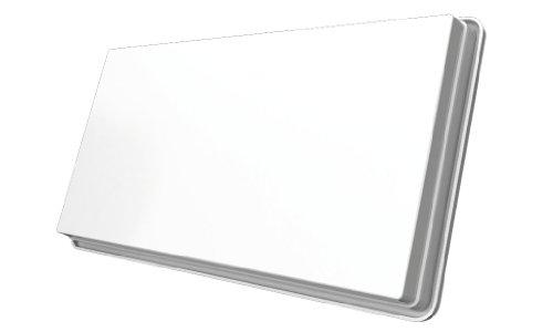 STRONG SlimSat SA 61 Antena Plana satelital única [LNB integrada, Sat, para 1 suscriptor, Incluyendo Soporte, Antena, Antena parabólica] Blanco