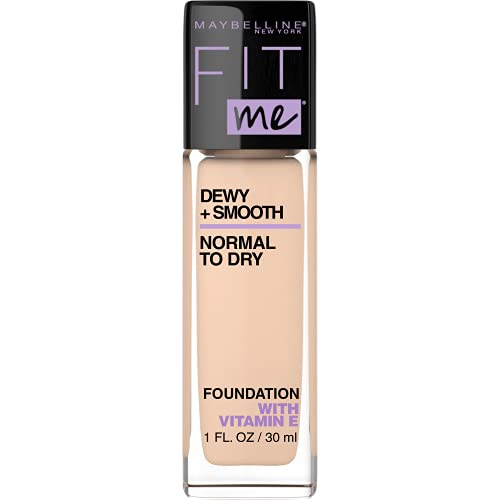 Maybelline Fit Me Dewy and Smooth Luminous Liquid Foundation - Ivory 115