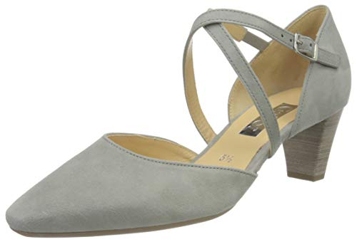 Gabor Shoes Damen Fashion Pumps, Grau (Grau 19), 39 EU