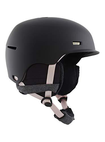 Anon Damen Raven Snowboard Helm, Black Mauve, Mittelgroß