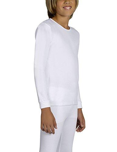 Ysabel Mora Kids Thermal T-Shirt White in size 6 Years