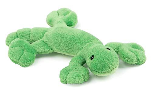 Schaffer Knuddel mich! 3548 Plüsch Magnet Gecko Lizzy, grün, 11 cm