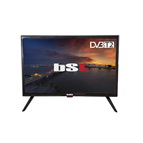 "TV 22"" Pulgadas BSL-22112V | LED | con USB Reproductor Multimedia | TDT2 (DVBT2)| Conector HDMI | 1366 x 768 | Clase de eficiencia energética A | OSD en español e inglés."