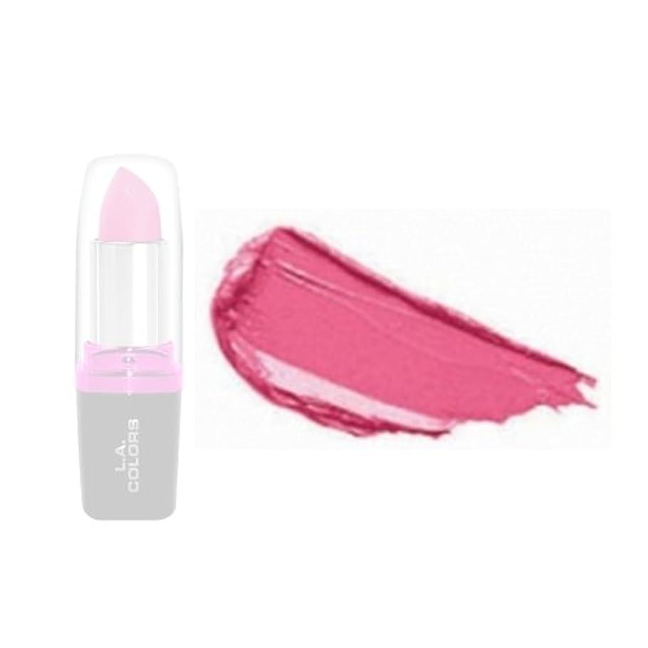 苦痛後退する大洪水(6 Pack) LA Colors Hydrating Lipstick - Frosted Kiss (並行輸入品)