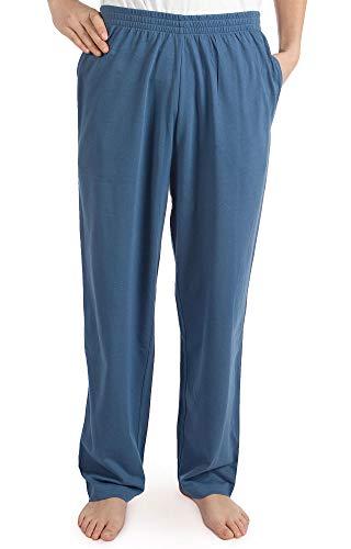 Pembrook Mens Jersey Knit Pants-3XL-Blue