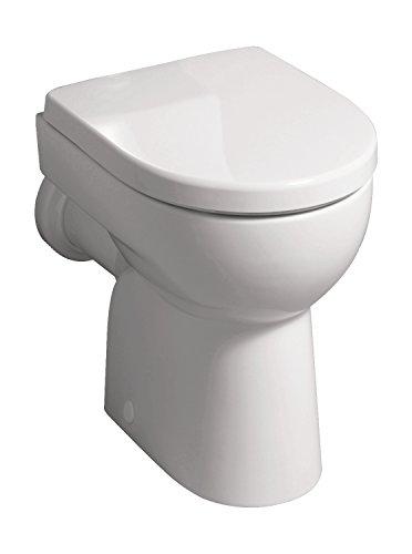 Keramag Geberit 03961 1 Renova n.º 1 203010 - Inodoro de pie con salida horizontal, color blanco