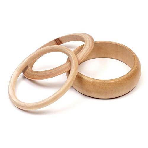 efco Buchenholz Ringe blank, Holz, braun, 8x 8x 2cm