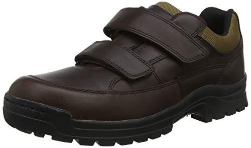 Aigle Herren Alten Scratch Leather Sneaker, Braun (Brown 001), 41 EU