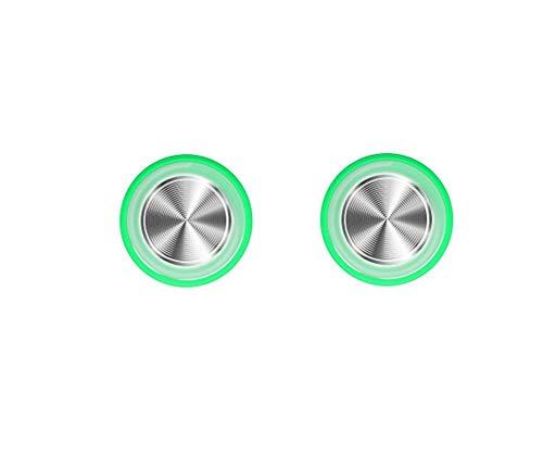 Controlador de juegos de teléfono - Joystick de pantalla táctil móvil para teléfono, Android, tableta, Ipad - mando de juego - 2 unidades - color verde