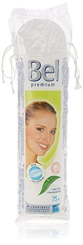 BEL Premium - Discos desmaquillantes redondos, 1 paquete de 75 piezas