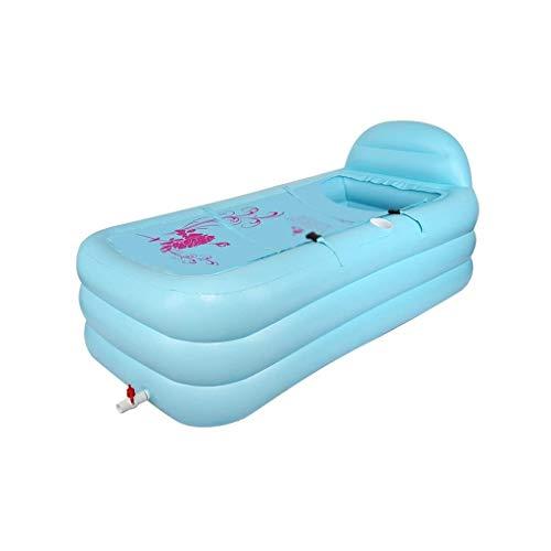 NXYJD Rectangular Piscina Inflable, Piscina Inflable Espesado, bañera Inflable, Playa Adulto Bañera Barril