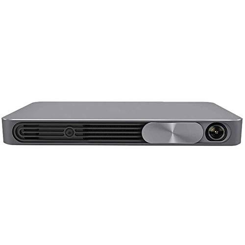 WSMLA Proyector 1080p video proyector imagen ideal de visualización for presentaciones de negocios Inicio de cine en casa 3D sin rejillas TV WiFi Smart Office proyector de negocios Oficina de Educació