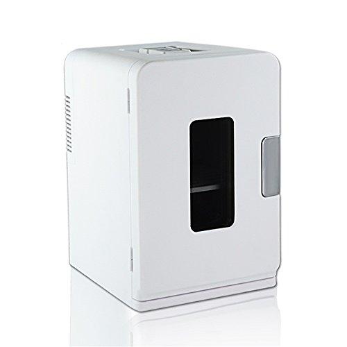 CivilWeaEU 15 Liter Mini Kühlschrank Auto Kühlschrank bewegliche Abkühlung/Heizung Kühlschrank