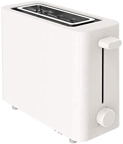 Mopoq Mini automática Tostadora La simplicidad de un toque rápidamente la cocina casera desayuno Máquina ranuras anchas Mini Tostadora PTC Uniforme calefacción regulable Anti-Tarjeta del diseño