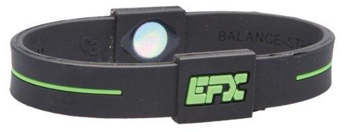 EFX Sport Pulsera Silicona, Hombre, Negro/Verde, 8