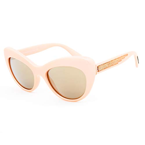Dolce & Gabbana 0DG6110 30995A 52 Occhiali da Sole, Rosa (Pearl Pink/Lightbrownmirrorgold), Donna