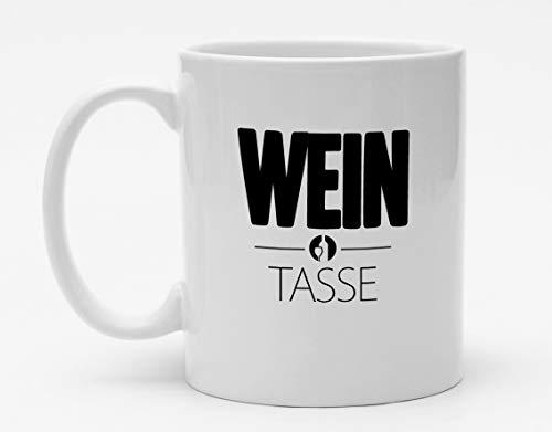Lustige Tasse   Wein Tasse   Funny Alkohol Becher   Kaffeetasse   Bedruckt mit Motiv   Tasse mit Spruch   Geschenk   Küche   Handmade