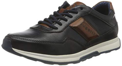 bugatti Herren 311A2W014141 Sneaker, Dunkelblau/Blau, 40 EU