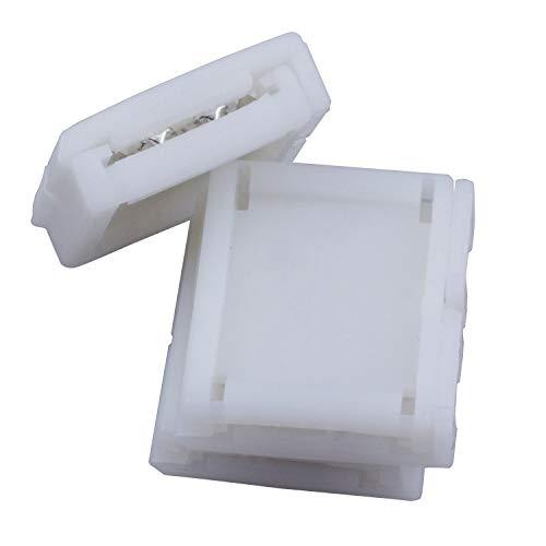 Groothandel 10 set 16mm 4 Pin Connector Adapter Voor RGB LED SMD Strip Streep Waterdicht Voor het aansluiten van Alle LED RGB lichtstrip